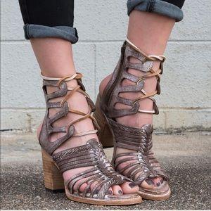 Freebird by Steven Beliz leather sandal boot